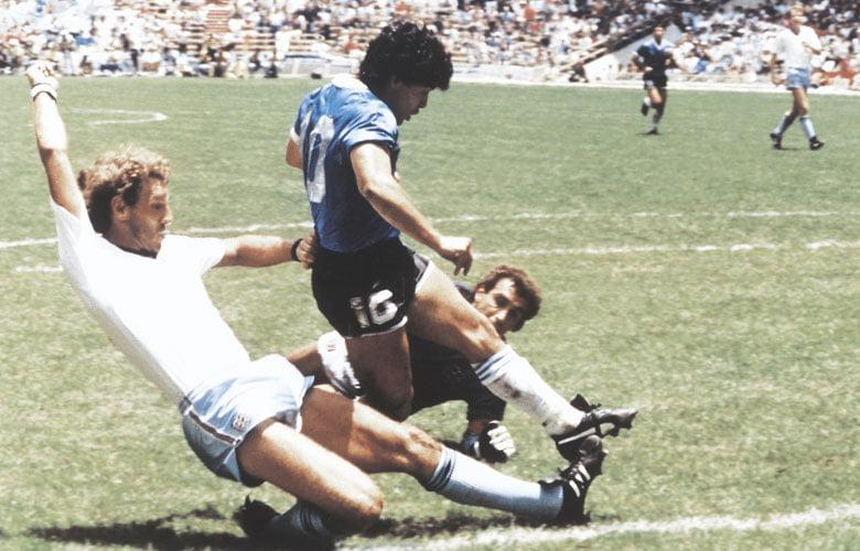 El gol del siglo de Maradona.