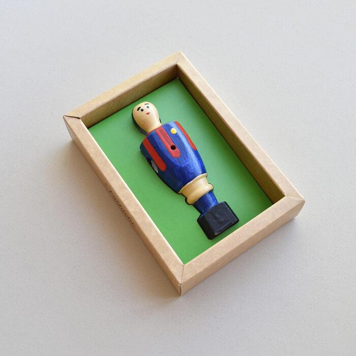 Figura futbolín Culé