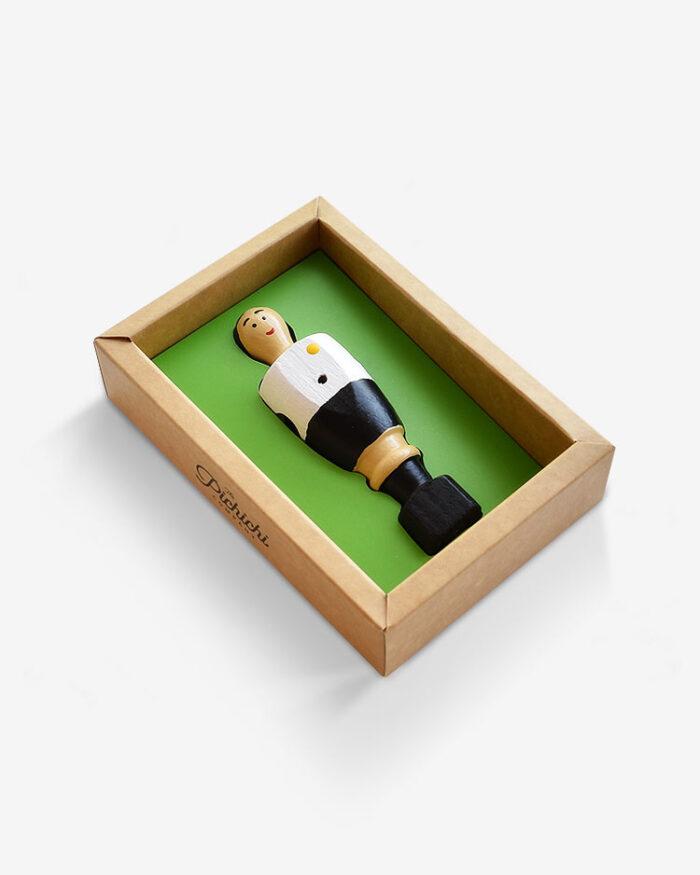 Jugador futbolín Che packaging