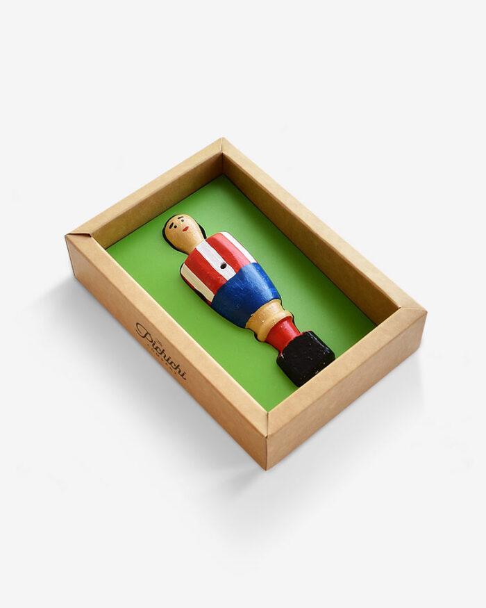 Jugador futbolín Atlético Madrid packaging