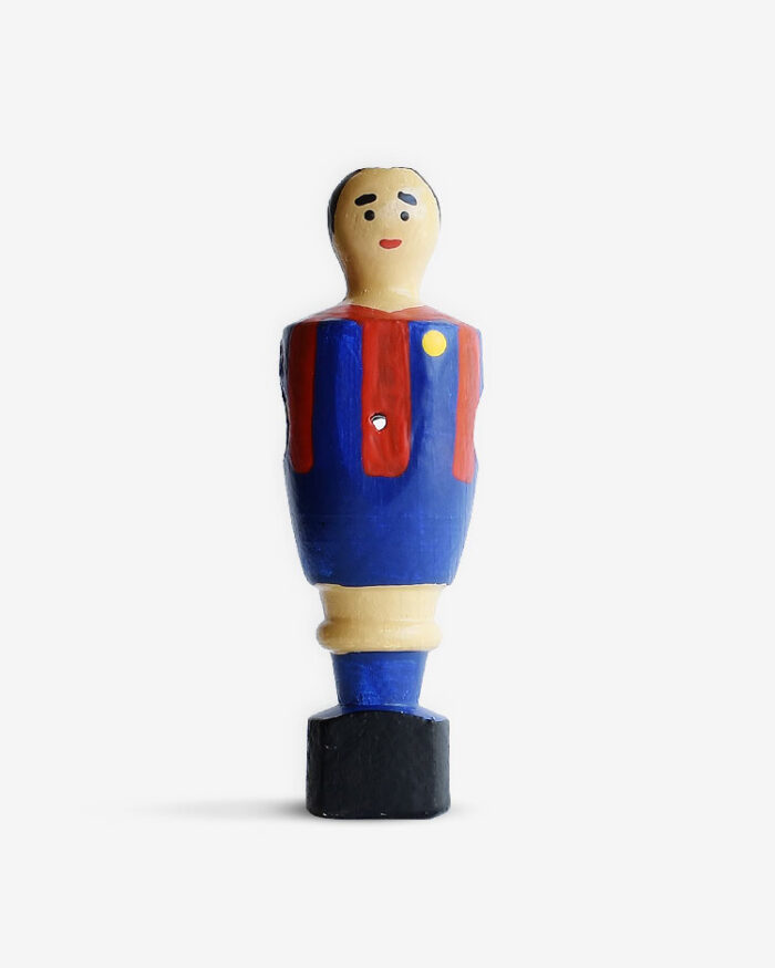 Jugador futbolín Barcelona