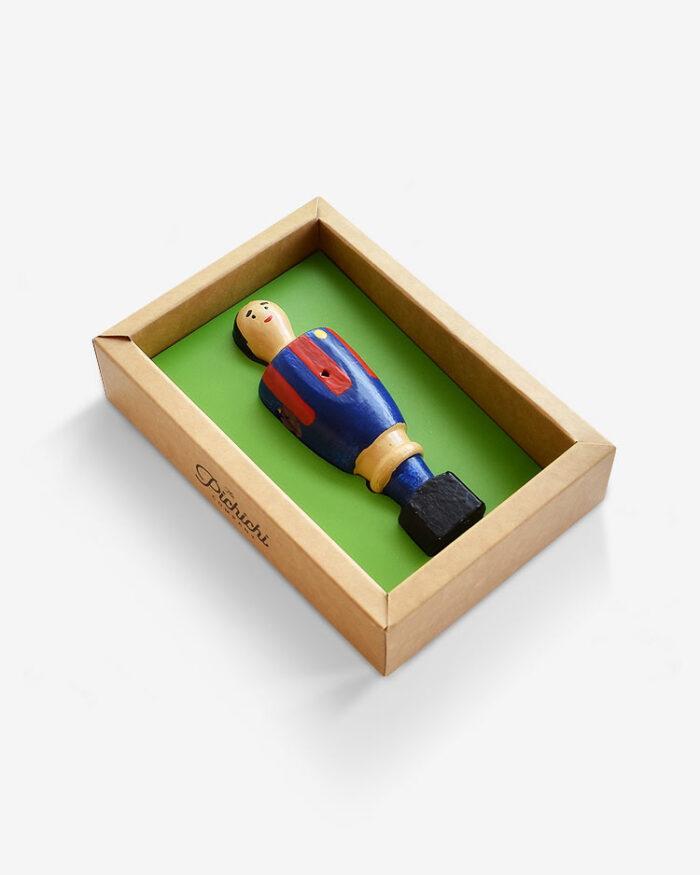 Jugador futbolín Barcelona packaging