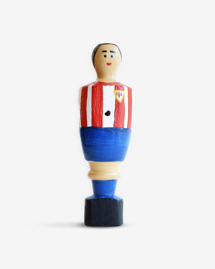 Quini muñeco futbolín personalizado