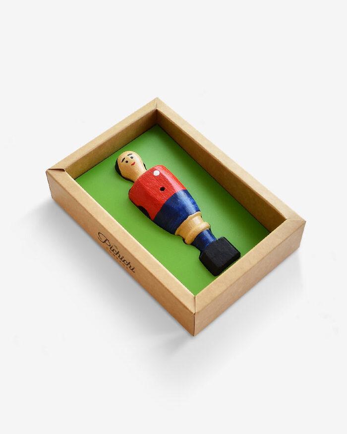 Muñeco Rojillo futbolín