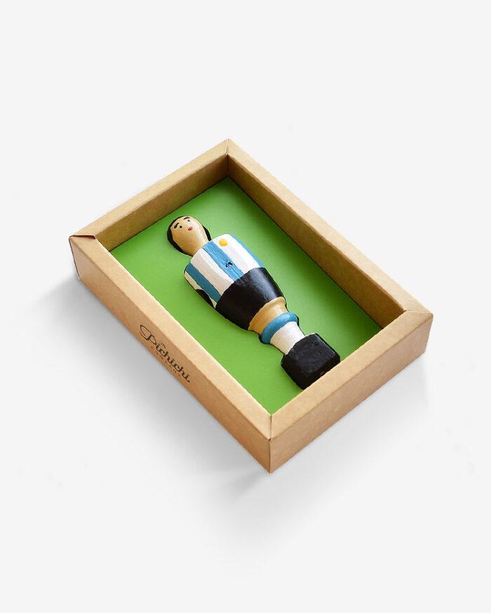 Figura futbolín Argentina packaging