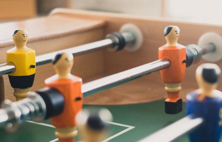 ¿Por qué se inventó el futbolín?