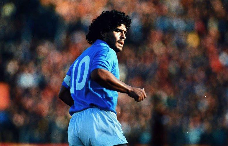 La otra mano de Dios de Maradona.