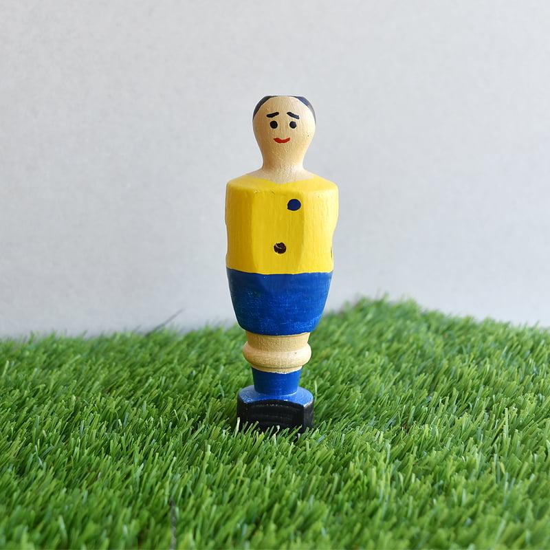 Jugador de futbolin de Mágico González