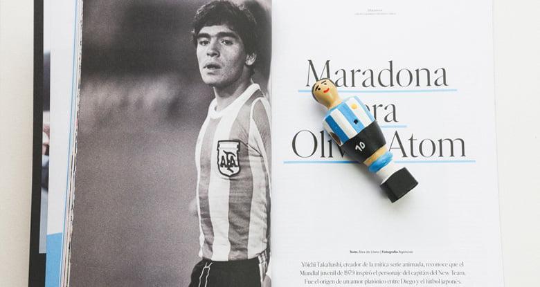 Líbero y Maradona