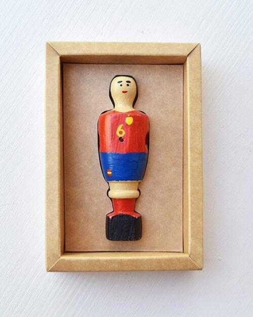 Muñeco futbolín Iniesta