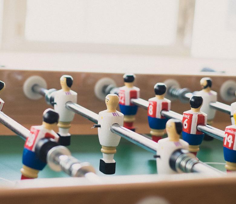 El futbolín de bar – Nostalgia futbolera