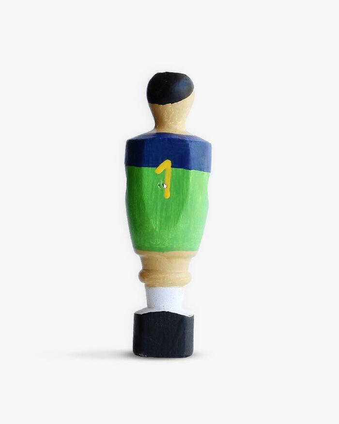 Muñeco futbolín El Santo. Casillas