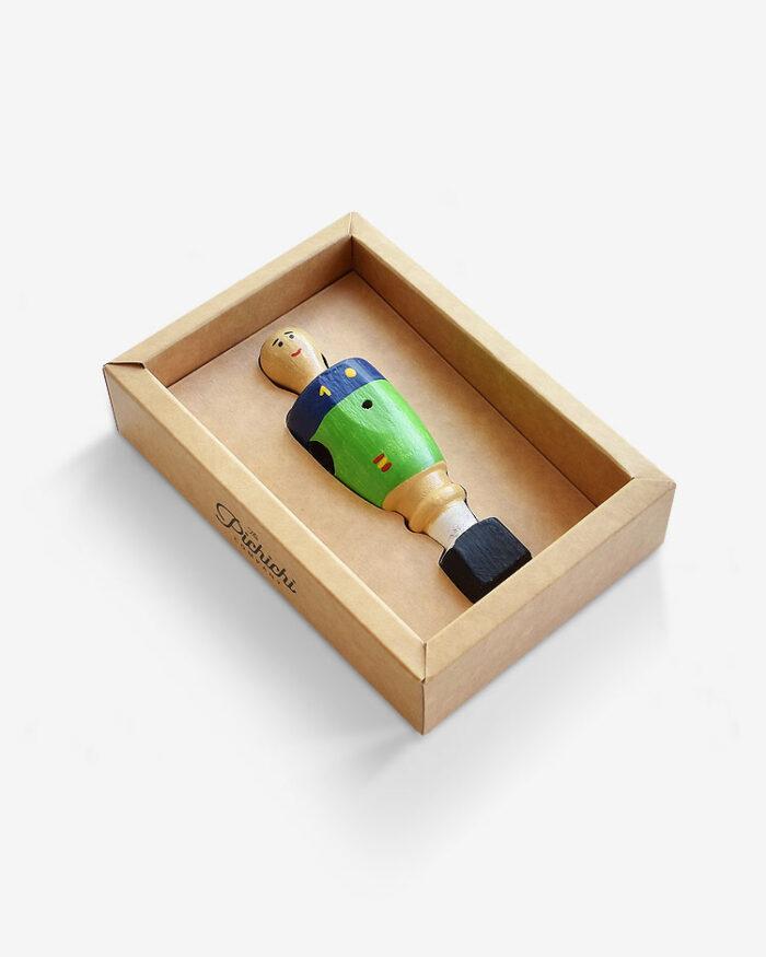 Muñeco futbolin Casillas caja