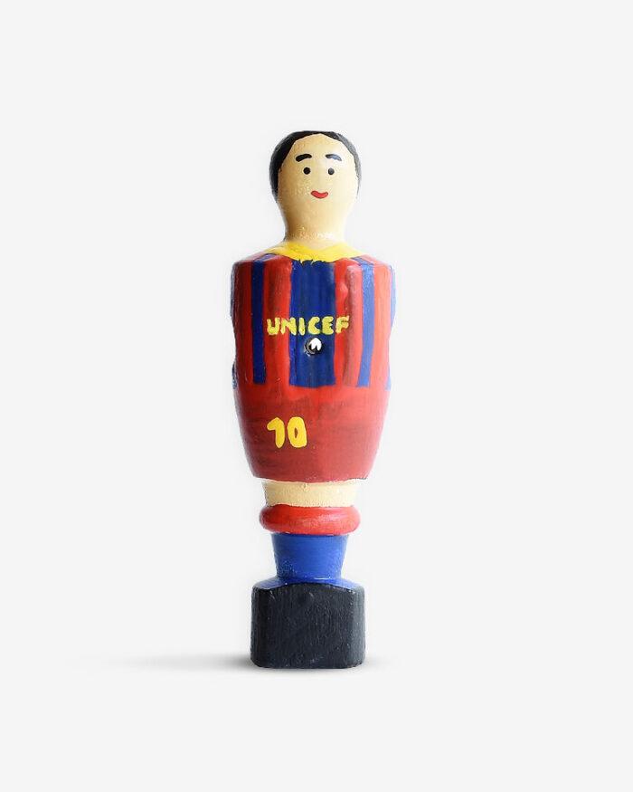 Jugador futbolín personalizado Messi