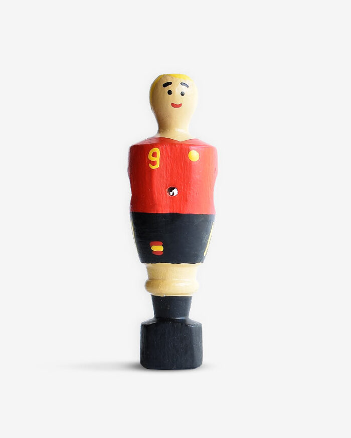 muñeco futbolín personalizado