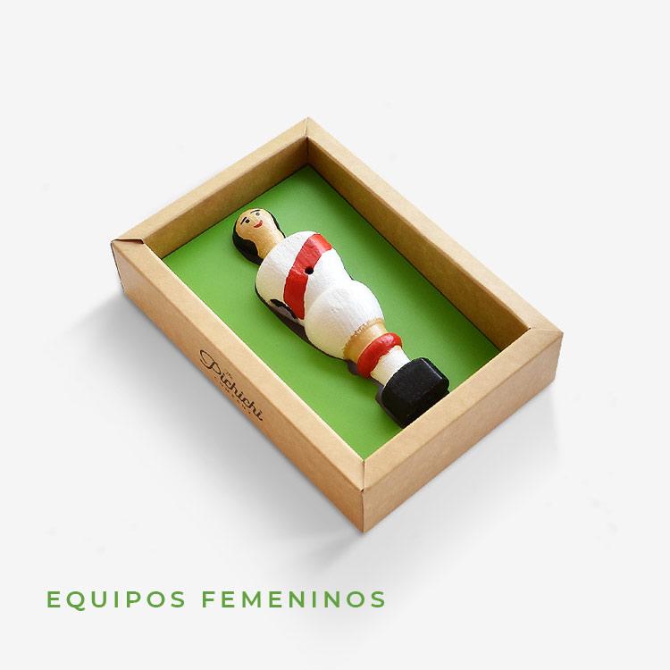 Chicas futbolín femenino