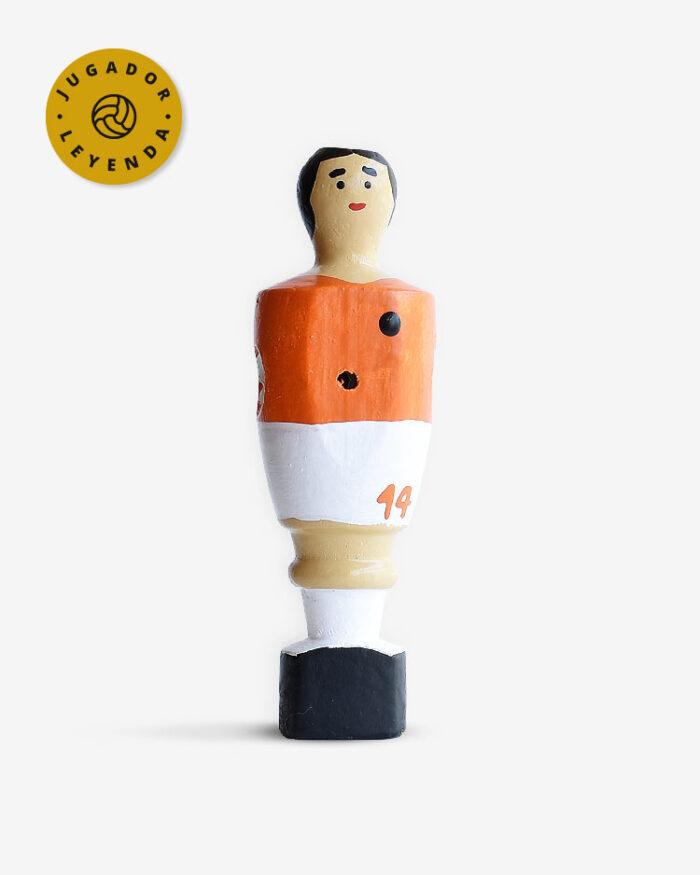 Muñeco de futbolín Cruyff