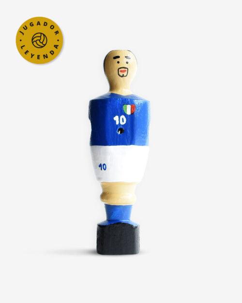 Muñeco futbolin Roberto Baggio