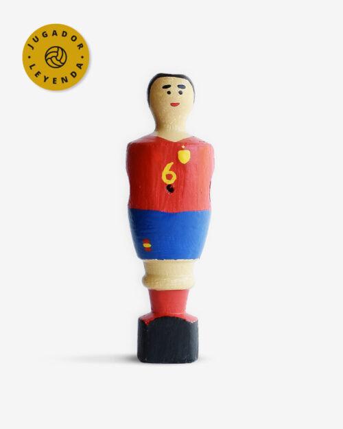 Muñeco de futbolín de Iniesta