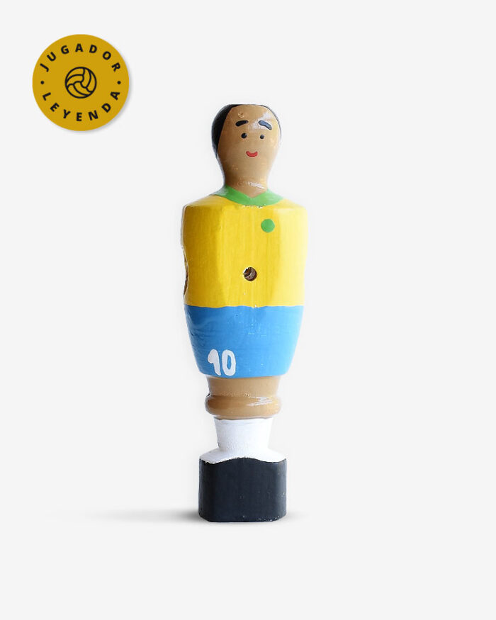muñeco futbolin Pelé