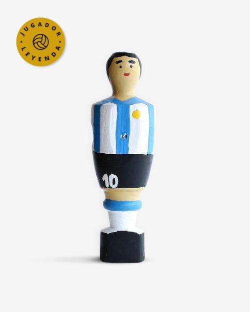 Muñeco de futbolin de Maradona
